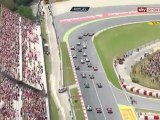 F1 2012 GP España Salida | F1 2012 Spanish GP Start Engine Sounds [HD]