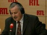 """Le général Jacques Grandchamps, ancien commandant la région de Gendarmerie de Rhône-Alpes, était l'invité de """"RTL Midi"""" vendredi"""