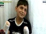 Syrie drame Un enfant qui brise le c½ur et fait pleurer les yeux