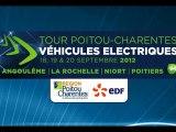 Présentation du Tour Poitou-Charentes -véhicules électriques- 2012