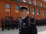 Remise des insignes de Chevalier dans l'Ordre national du Mérite au Colonel Gilles GREGOIRE