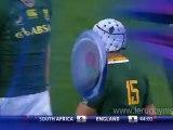 Chris Ashton décapsule Gio Aplon pendant Afrique du Sud - Angleterre