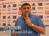 Interview Eric Buonomo, manager des équipes de France de judo.