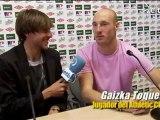 'Vaya Semanita' entrevista a los jugadores del Athletic club de Bilbao