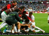 watch euro 2012 Spain vs France uefa football live stream online