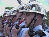 Hommage national aux sapeurs-pompiers de France
