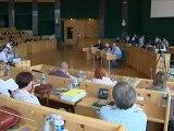 Conseil général du Puy de Dôme : Première session après les élections