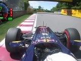 F1 2012 Gilles Villeneuve Circuit Onboard Vettel Pole Lap [HD] FOM (Montreal, Canada GP 2012)