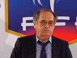 Le Président de la FFF évoque Laurent Blanc et Didier Deschamps
