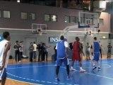 Basket - Un occhio tradisce Tony Parker