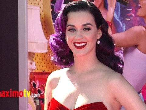 Katy Perry FAMILY AFAIR at Katy Perry: Part of Me 3D PREMIERE Pink Carpet Arrivals