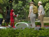 Jew hating Elmo ejected from Central Park for anti semitic rant