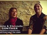 Le vin de féminin en Gironde - Valérie & Christelle Gonthier, Château Haut-de-Lerm