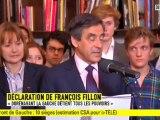 """Malgré sa victoire à Paris, François Fillon évoque une """"défaite sévère"""""""