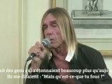 Le chanteur de punk Iggy Pop reprend des chansons d'amour françaises