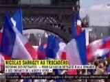 """Sarkozy au Trocadéro : """"La France au cœur"""""""