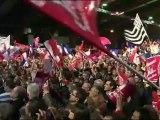 Ségolène Royal au côté de François Hollande à Rennes