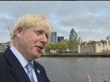 Boris Johnson jokes Olympic rings symbolise chastity