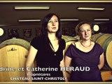 Le vin au féminin en Gironde - Sandrine & Catherine Heraud, Château Saint-Christoly