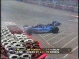 CART Long Beach 1996 Crash Gordon