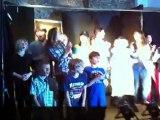 Final de la pièce de théâtre Jacob, école Nos enfants, 2012
