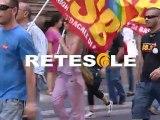 Stati generali del sociale e della famiglia scontri manifestanti contestazione Fornero Tgroma Retesole