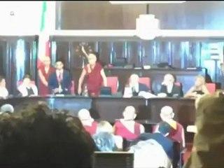 Il Dalai Lama in Consiglio comunale