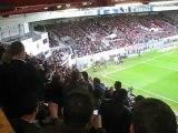 Guingamp - Clermont (3-1) - Match du centenaire - 11 mai 2012 - Didier Drogba et Florent Malouda