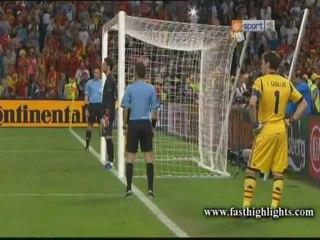 Portugal 0-0 Spain - Pen 2-4 (Euro 2012 - Semi Final)