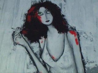 L'artiste peintre Lydi expose ses toiles au Jardin en Ville à Carcassonne jusqu'à la fin du mois d'août: