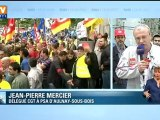 PSA : les salariés se mobilisent à Aulnay-sous-Bois