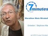 Marathon Metz Mirabelle - Dominique Boussat - Président Metz Marathon