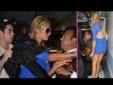 Paris Hilton Knocked Down By Media Photographer - Hollywood Scandal
