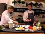 Hoger Stromberg - Live Cooking bei Oberpollinger München