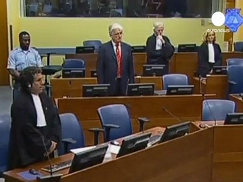 Karadzic assolto per genocidio in Bosnia
