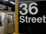 Escaliers du métro de New-York
