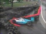 CART Detroit 1996 Crash Moore Ribero