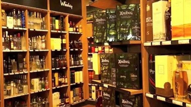 Weinabteilung der Galeria Gourmet @ Galeria Kaufhof München