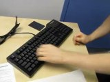 Metadot Das Keyboard Ultimate Blank Mechanical Blue Keyboard Unboxing & First Look Linus Tech Tips