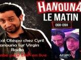 """RADIO / Pascal Obispo en live chez Cyril Hanouna chante """"Tombé Pour Elle"""" / A fleur de PO"""