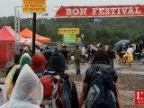 Le camping des eurocks 2012 sous la pluie