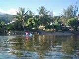 2012 05 14 016 lun VIDEO  Polynésie Française Tahiti Raiatea kayak avec les dauphins