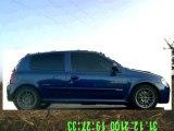 Clio 2 RS ph1 : Accélération 0-100kmh vidéo extérieure - Acceleration 0-100kmh outside video