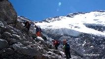 Chalets de Miage refuge Plan Glacier refuge Durier