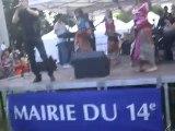 Mohamed Allaoua au Parc Montsouris