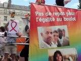 Marche des fiertés 2012 avec interview CFDT
