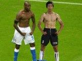 La célébration de Mario Balotelli copiée au Japon !