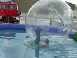 Piscine à bulles