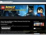 Download Lego Batman 2 Villans Character Pack DLC - Xbox 360 / PS3