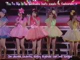 ºC-ute - Sekaiichi HAPPY na Onna no Ko (H!P concert tour 2011) (sub español)